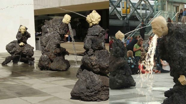The Big Giving By Klaus Weber - Weirdest Statues
