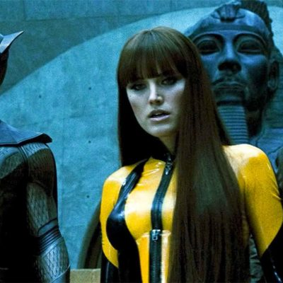 Watchmen Cast: Nite Owl, Silk Spectre II, and Rorschach