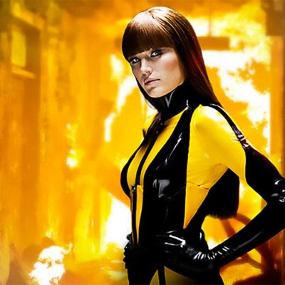 Watchmen's Malin Akerman As The Silk Spectre