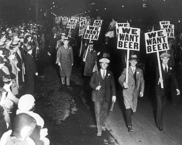 We Want Beer Prohibition Poster