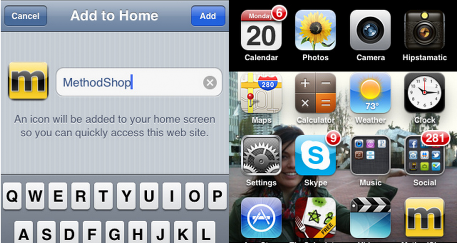How to make a website an app on your ipad