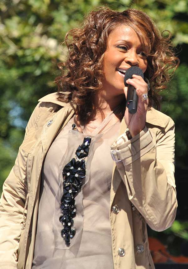 Whitney Houston Performing On Good Morning America
