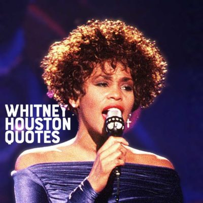 "Whitney Houston performing ""Greatest Love of All"""