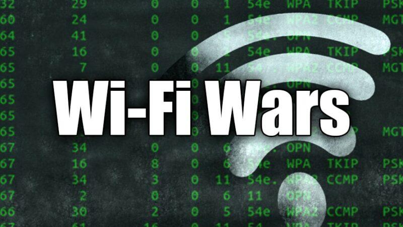 WiFi Wars: Funny WiFi Names