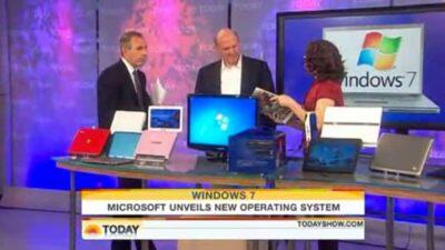 Windows 7 Demo on TODAY Show