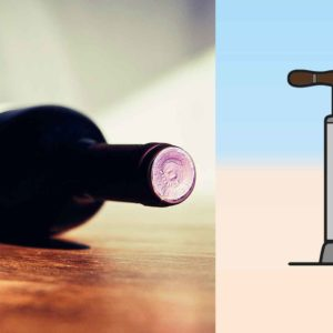 Cool Wine Opener Hack: How To Open A Bottle Of Wine With A Bike Pump