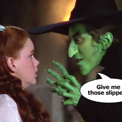 Wizard Of Oz: Shoes