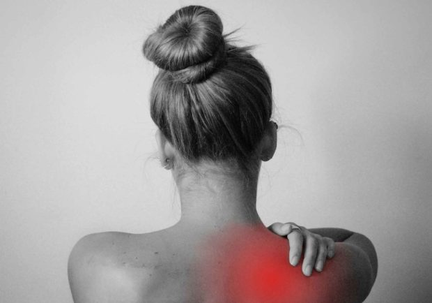 Woman Back Pain