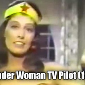 Terrible 1960s Wonder Woman TV Pilot Leaked