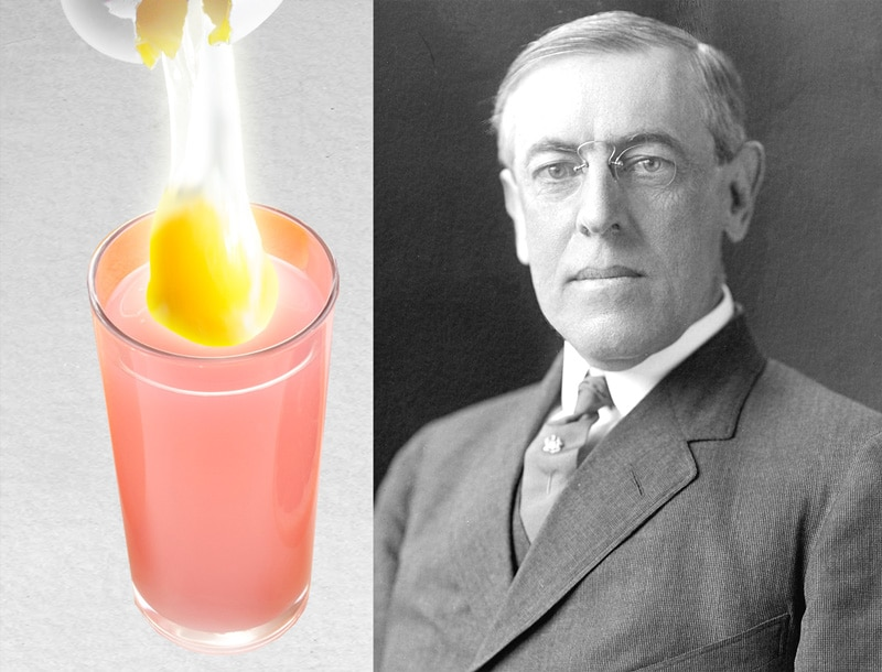 woodrow wilson's breakfast eggs - world egg day