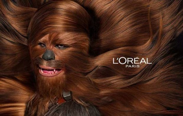 Wookie Hair Everywhere - Funny Star Wars Pictures