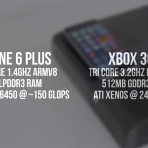 VIDEO: Can the iPhone 6 Kick the Xbox 360's Ass?