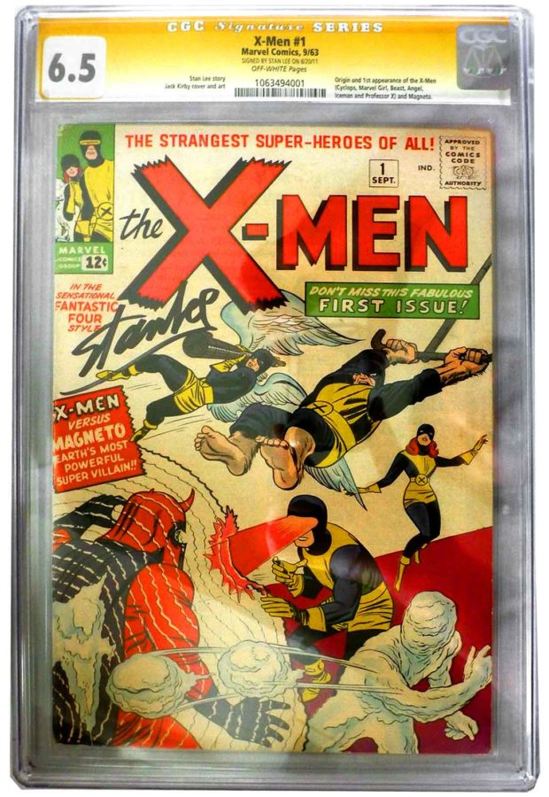X-Men #1: Signed By Stan Lee