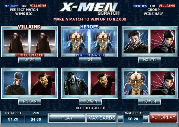 X-Men: Scratch