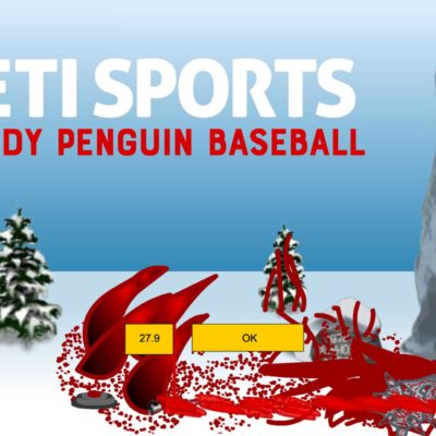 Yeti Sports: Bloody Penguin Baseball (aka Bloody Penguin Toss)