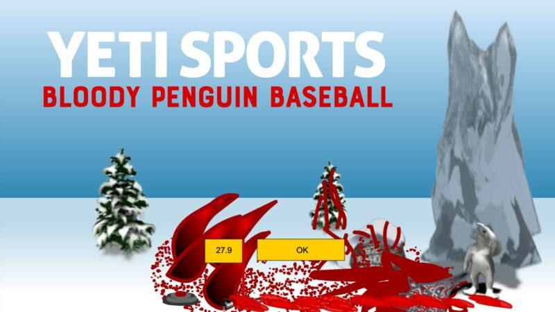 Yeti Sports: Bloody Penguin Baseball (aka Bloody Penguin Toss)