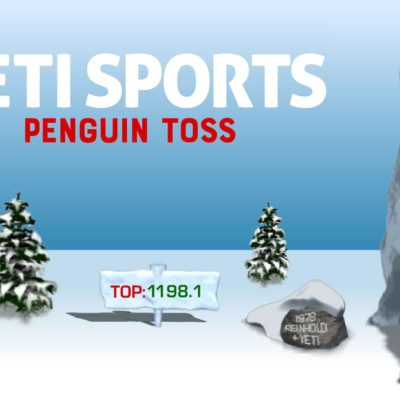 Yeti Sports: Penguin Toss