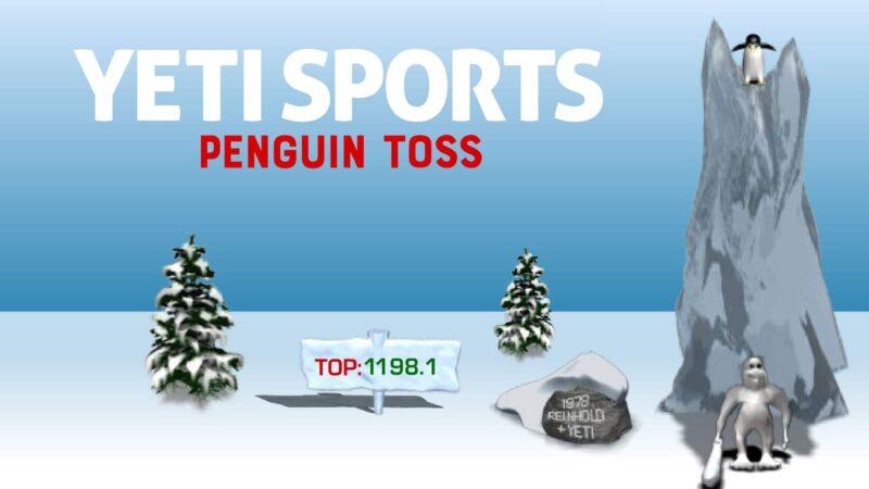 Yeti Sports: Penguin Toss