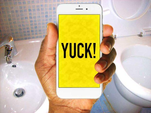Gross Bathroom Phone Use Stats